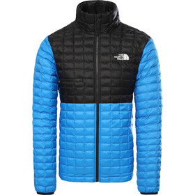 The North Face ThermoBall Eco Light Veste Homme, clear lake blue/tnf black
